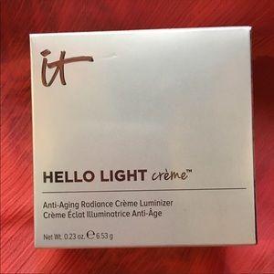 NEW IT Cosmetics Hello Light Creme Luminizer